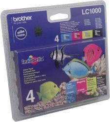 Brother LC1000VALBP Multipack (BK/C/M/Y)
