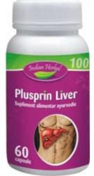 Indian Herbal Plusprin Liver - 60 comprimate