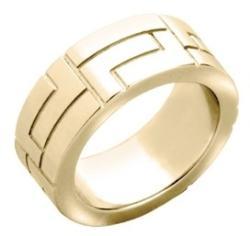 Versace Дамски пръстен Versace V-Greca - FIL1011A000