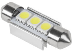 Vipow BEC LED 3X SMD5050 ALB AUTO CANBUS T11X36 EuroGoods Quality