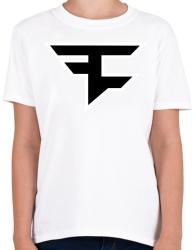 printfashion Faze Clan logo - Gyerek póló - Fehér