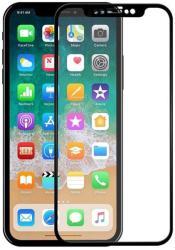 Folie sticla securizata Full Glue 5D pentru iPhone X, Negru (SKU1020293LKM)