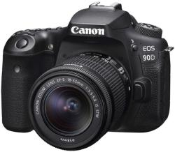 Canon EOS 90D + EF-S 18-55mm IS STM (3616C010AA/3616C030AA)