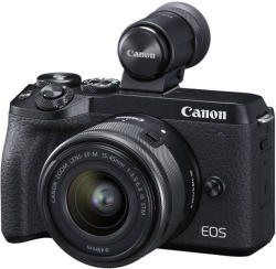 Canon EOS M6 Mark II + EF-M 15-45mm IS STM + EVF