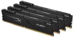 Kingston HyperX FURY 64GB (4x16GB) DDR4 2666MHz HX426C16FB3K4/64