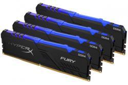 Kingston HyperX FURY 64GB (4x16GB) DDR4 2400MHz HX424C15FB3AK4/64