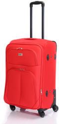 BONTOUR Basic - bővíthető közepes bőrönd (214-M)