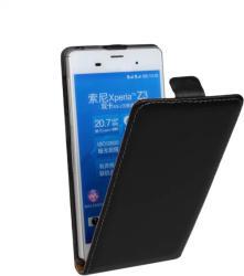 Калъф тефтер за Sony Xperia Z3 черен флип