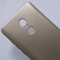 Калъф за Xiaomi Redmi Note 4 силиконов гръб златен Lux