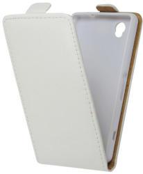Калъф тефтер за Sony Xperia Z3 бял Flexi