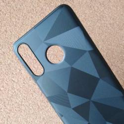 Калъф за Huawei P30 Lite силиконов кейс черен призма