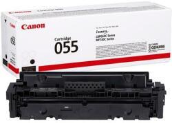 Canon CRG-055 Lézertoner i-Sensys LPB663 664 MF742 744 746 nyomtatókhoz Canon fekete 2, 3k