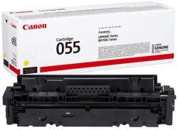 Canon CRG-055 Lézertoner i-Sensys LPB663 664 MF742 744 746 nyomtatókhoz Canon sárga 2, 1k