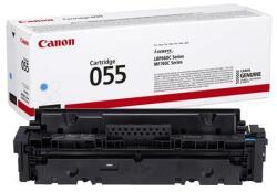 Canon CRG-055 Lézertoner i-Sensys LPB663 664 MF742 744 746 nyomtatókhoz Canon cián 2, 1k