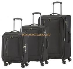 Travelite Crosslite - 4 kerekű 3 részes bőrönd szett