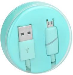 HQ Cablu Date & Incarcare MicroUSB Ring (Menta) Box