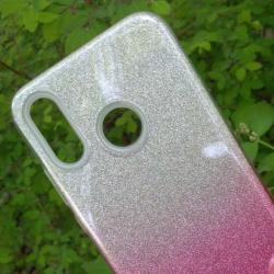 Калъф за Xiaomi Redmi Note 7 силиконов гръб Shine розов