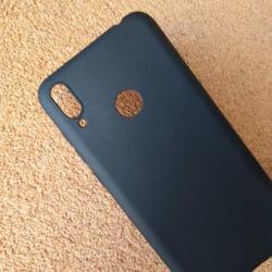 Калъф за Xiaomi Redmi Note 7 силиконов гръб черен мат