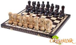 """Sunrise sakk készletek Faragott sakk készlet fából, nagy méretű 60x60cm """"GLADIÁTOR"""" CH117 (SU)"""