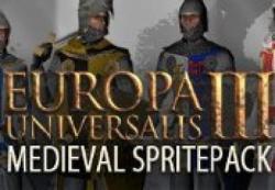 Paradox Interactive Europa Universalis III Medieval Spritepack DLC (PC)