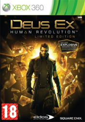 Square Enix Deus Ex Human Revolution [Limited Edition] (Xbox 360)