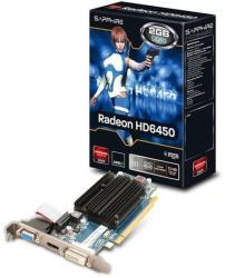 SAPPHIRE Radeon HD 6450 2GB GDDR3 64bit PCIe (11190-09-20G)
