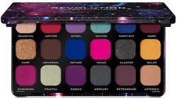 Makeup Revolution Szemhéjfesték paletta, 18 árnyalat - Makeup Revolution Forever Flawless Palette Optimum