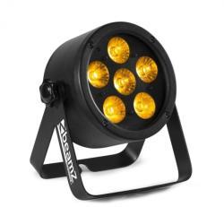 Beamz Professional BAC302, ProPar рефлектор, 6 x 12 W, 6 в 1 LED RGBWA-UV, затъмняване, дистанционно управление (Sky-151.352) (Sky-151.352) - electronic-star