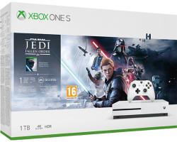Microsoft Xbox One S (Slim) 1TB + Star Wars Jedi Fallen Order Deluxe Edition