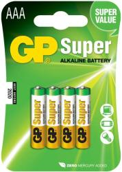 GP Batteries AAA Super LR03 (4)
