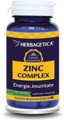 Herbagetica Zinc Complex - 120 caps