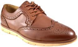 THEICONIC Pantofi barbati maro eleganti vintage II