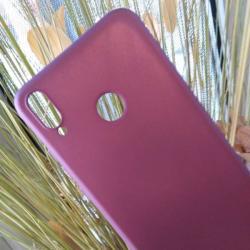 Калъф за Xiaomi Redmi Note 7 силиконов гръб лилав Lux