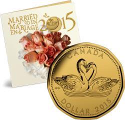 Royal Canadian mint Подаръчен комплект за Сватба 2015 (3010035)