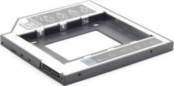 """Gembird HDD Rack RACK CADDY GEMBIRD HDD/ SSD pentru CD/DVD Bay, pentru Notebook, Ingust, 9.5mm""""MF-95-01 (MF-95-01) - vexio"""
