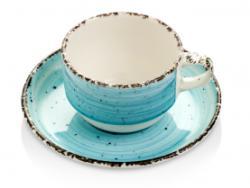 Gural Porselen - Turquoise Чашка с чинийка 230ml. (NBNEO02CT50TM) (0180495)