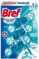 Bref Color Aktiv Ocean WC frissítő 3x50 g