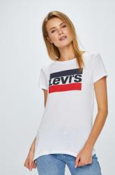 Levi's - Felső The Perfect Tee Sportswear - fehér XXS