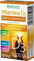 BÉRES Vitamina D3 1600 UI, Beres, 30cpr