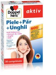 Doppelherz Aktiv Piele + Păr + Unghii, 30 capsule