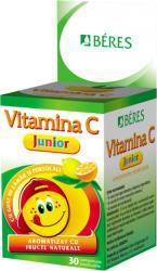 BÉRES Vitamina C Junior, Beres, 30cpr masticabile