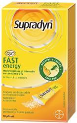Supradyn Fast energy cu Coenzima Q10, 10 pliculețe