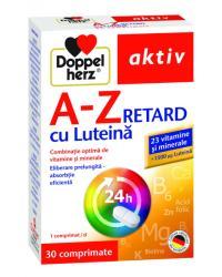 Doppelherz Vitamine și minerale Doppelherz A-Z Retard Luteină, 30 tablete
