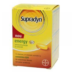Supradyn Energy cu Coenzima Q10, Bayer, 30cpr
