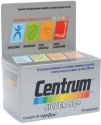 Centrum Silver 50+ Complet de la A la Zinc, 30 comprimate