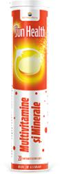 SunWave Multivitamine + Minerale Sun Health, 20 comprimate efervescente