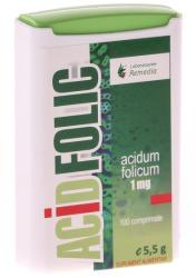 Remedia Acid Folic 1 mg, Remedia, 100 cpr
