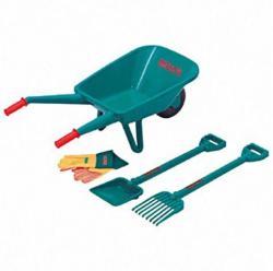 Klein Toys Bosch 4db-os kerti szett talicskával