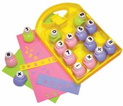 PLAYBOX Set 15 perforatoare numere (PB2800010)