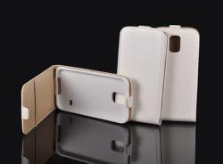 Apple iPhone 3, Lefele nyíló flip tok, fehér